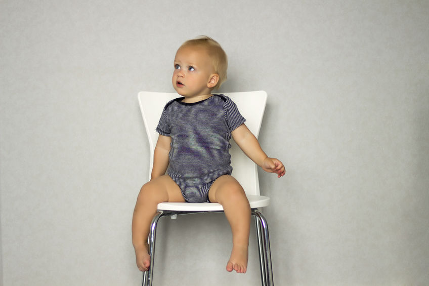 chair toddler on adult sized chair