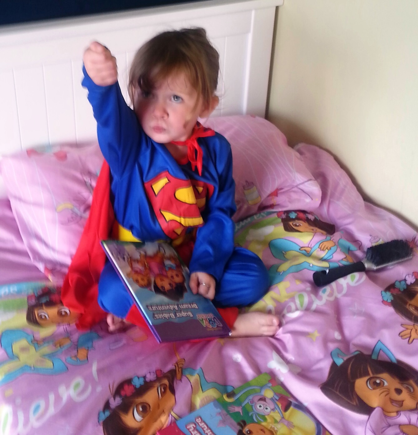 Superheroes and weapon play - for fun and learning