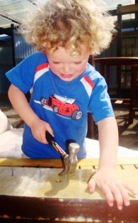 Woodwork Carpentry With Young Children